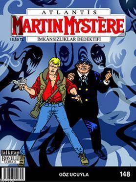 Martin Mystere Sayı 148; Göz Ucuyla