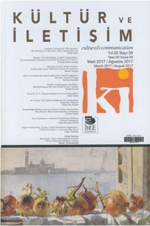 Kültür ve İletişim Dergisi Sayı: 39