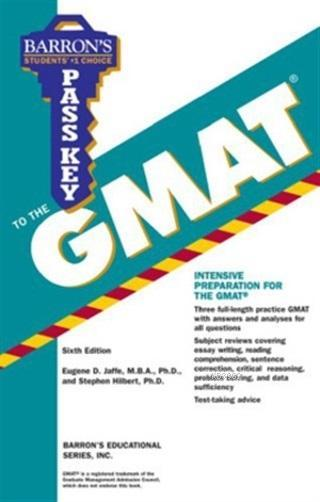 Pass Key to the GMAT (Barron's Pass Key to the Gmat)