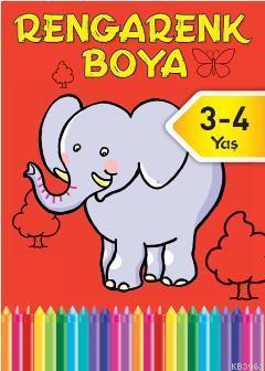Rengarenk Boya 2 (3-4 Yaş)