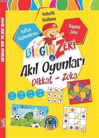 Bilgin Zeki ile Akıl Oyunları Dikkat Zeka - Sarı Seri