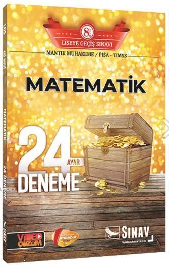 Sınav 8. Sınıf LGS Matematik 24 Deneme