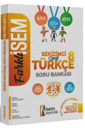İsem Yayınları 8. Sınıf LGS Türkçe Soru Bankası İsem