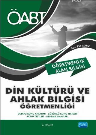 ÖABT Din Kültürü ve Ahlak Bilgisi Öğretmenliği - Öğretmenlik Alan Bilgisi