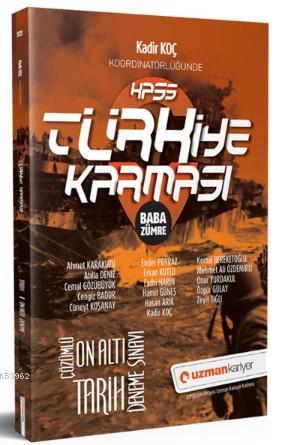 2019 KPSS Türkiye Karması Baba Zümre Tarih 16 Deneme Sınavı Tamamı Çözümlü