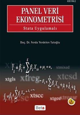 Panel Veri Ekonometrisi - Stata Uygulamalı