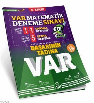 5. Sınıf Matematik Var Deneme Sınavı Arı Yayıncılık