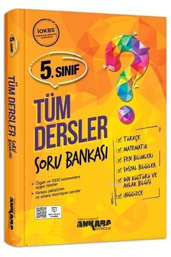 Ankara Yayınları 5. Sınıf Tüm Dersler Soru Bankası Ankara