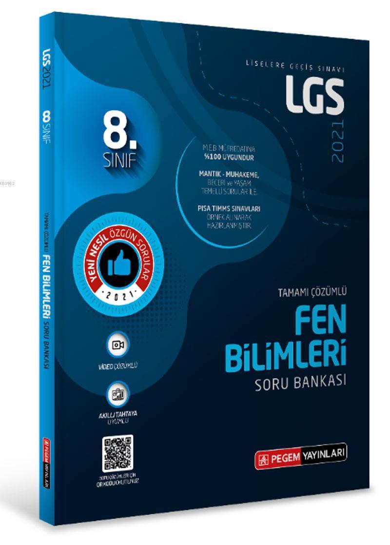 LGS Fen Bilimleri Tamamı Çözümlü Soru Bankası