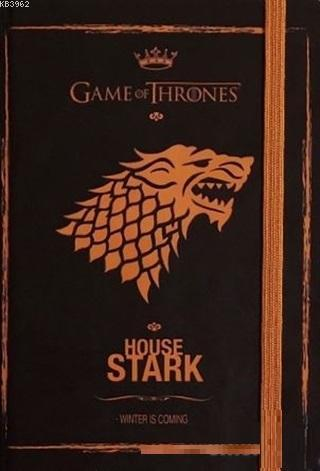 Game Of Thrones - Gold Defter Stark