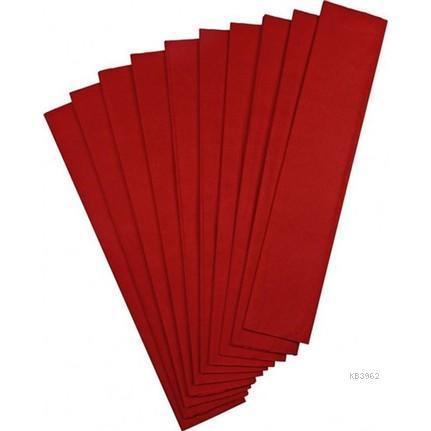 Ginza GN-296 Krapon Kağıdı 10`lu Kırmızı