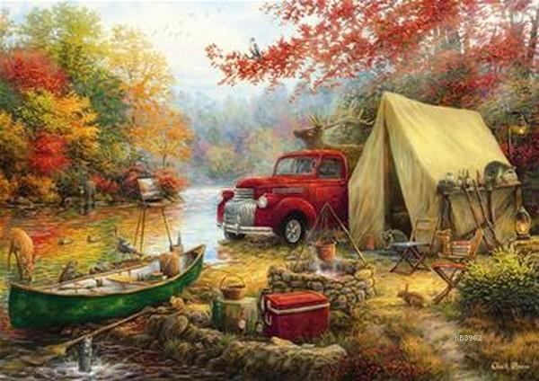 Anatolian Kamp Arkadaslari / Share The Outdoors 1500 Parça 4540