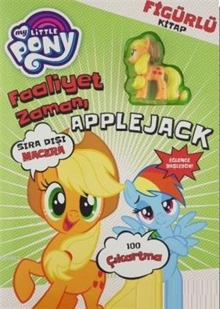 My Little Pony Faaliyet Zamanı Figürlü Kitap; Applejack
