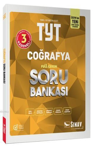 Sınav Dergisi Yayınları TYT Coğrafya Full Çeken Soru Bankası Sınav Dergisi