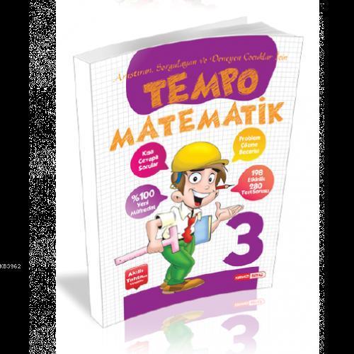 Kırmızı Beyaz Yayınları 3. Sınıf Tempo Matematik Kırmızı Beyaz