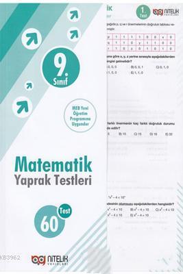 Nitelik - 9. Sınıf Matematik Yaprak Test Yeni 2019