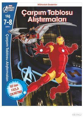 Marvel Avengers Assemble  Çarpım Tablosu Alıştırmaları  7-8 Yaş