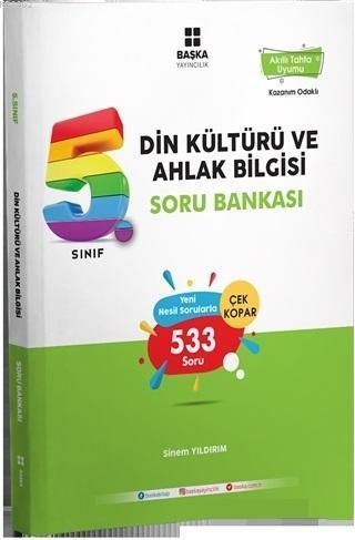 5. Sınıf Din Kültürü ve Ahlak Bilgisi Soru Bankası - ön kapak 5. Sınıf Din Kültürü ve Ahlak Bilgis