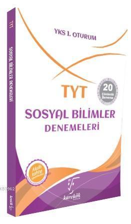 Karekök Yayınları TYT Sosyal Bilimler Denemeleri Karekök