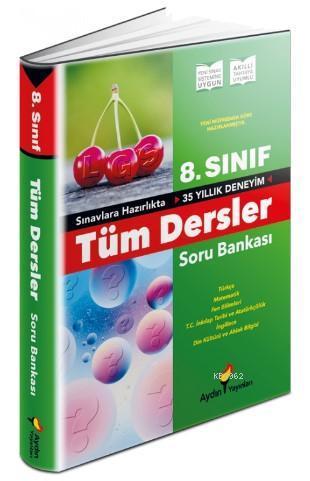 Aydın Yayınları 8. Sınıf LGS Tüm Dersler Soru Bankası Aydın