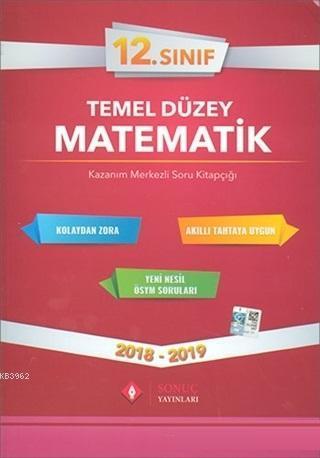 12. Sınıf Temel Düzey Matematik
