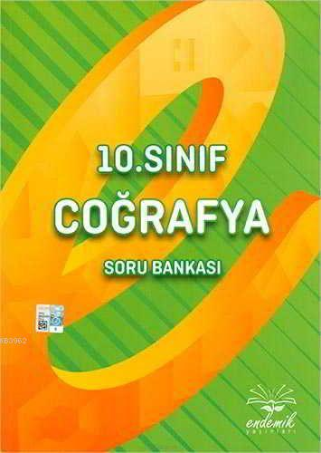 Endemik Yayınları 10. Sınıf Coğrafya Soru Bankası Endemik