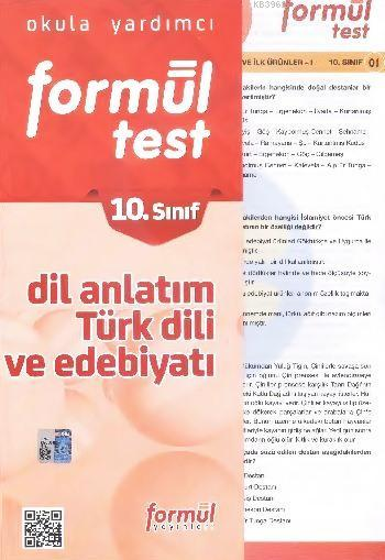 10. Sınıf Dil Anlatım - Türk Dili ve Edebiyatı Yaprak Testler