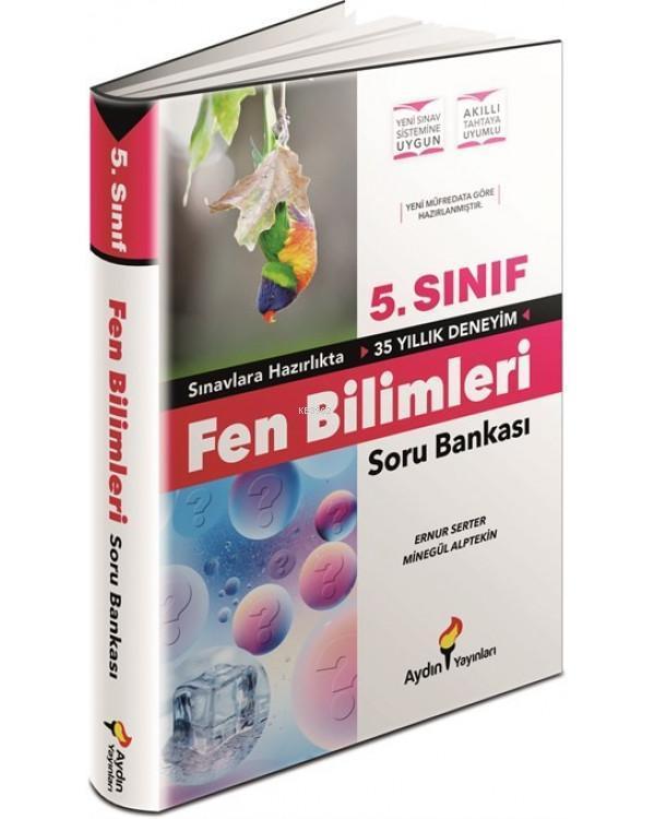 Aydın Yayınları 5. Sınıf Fen Bilimleri Soru Bankası Aydın