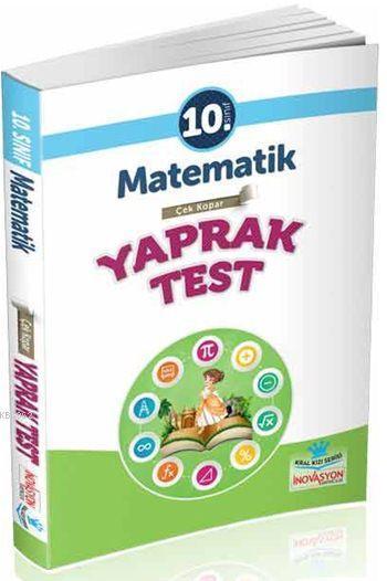 İnovasyon 10. Sınıf Matematik Çek Kopar Yaprak Test