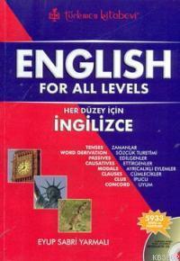 English For All Levels  (cd'li); Her Düzey İçin İngilizce