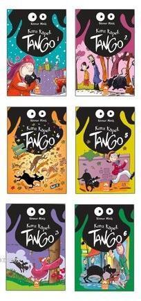 Kara Köpek Tango-6 Kitap Takım