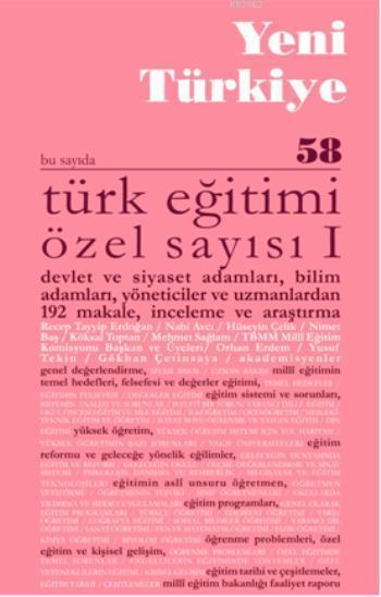 Türk Eğitimi Özel Sayısı - I; Sayı 58