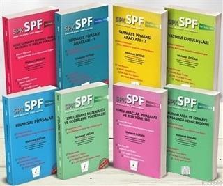 SPK - SPF Türev Araçlar Lisansı Seti (8 Kitap Takım)