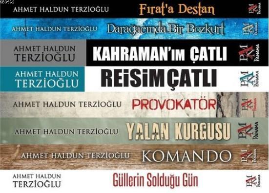 Ahmet Haldun Terzioğlu Siyasi Roman Seti (8 Kitap Takım)