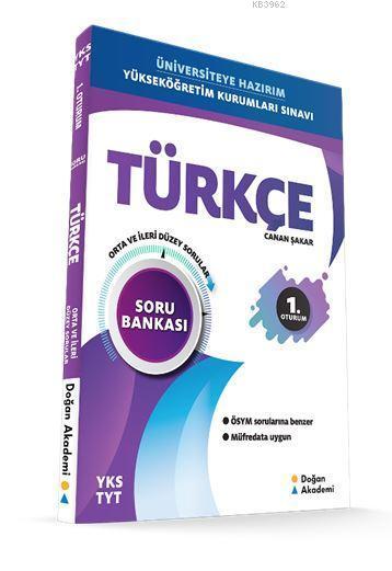 YKS-TYT  Türkçe Soru Bankası Orta-İleri Düzey