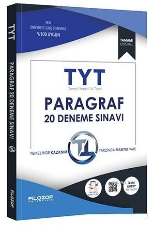 2019 TYT Paragraf 20 Deneme Sınavı; Tamamı Çözümlü