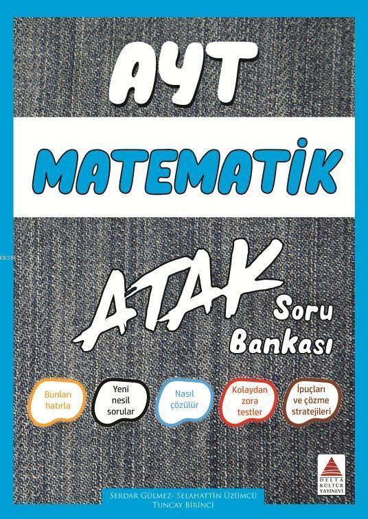 Delta Kültür Yayınları AYT Matematik Atak Soru Bankası Delta Kültür