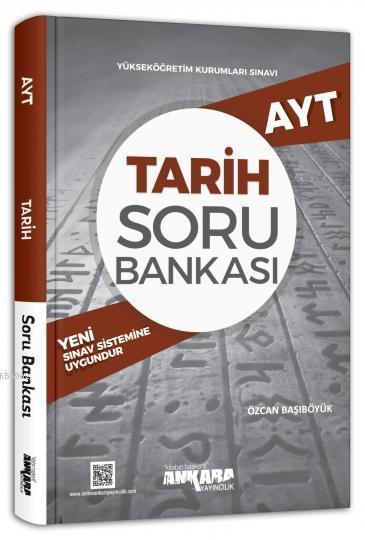 Ankara Yayınları AYT Tarih Soru Bankası Ankara