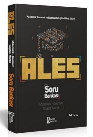 İsem 2021 ALES Matematik - Geometri Sayısal Mantık Tamamı Çözümlü Soru Bankası