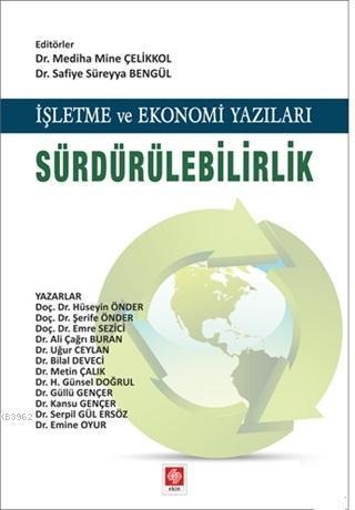 İşletme ve Ekonomi Yazıları Sürdürülebilirlik