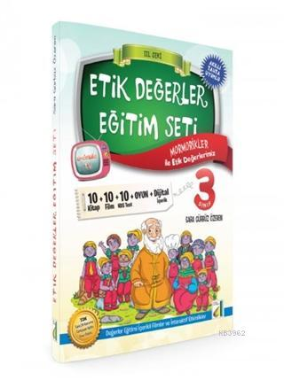 3. Sınıflar Etik Değerler Eğitim Seti ( 10 Kitap )