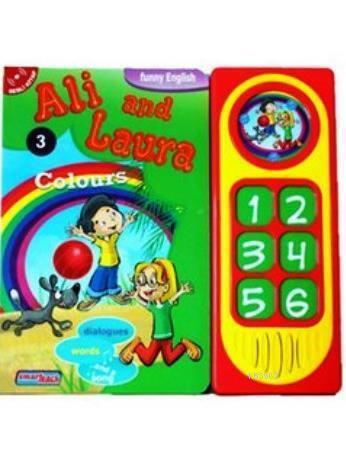 Ali and Laura 3 - Colours; Konuşan Sesli Kitaplar
