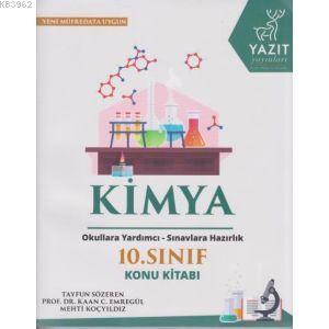 Yazıt Yayınları 10. Sınıf Kimya Konu Kitabı Yazıt