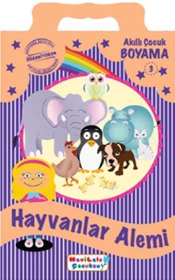 Hayvanlar Alemi Boyama Kitabı 3 Kolektif 9786054618415