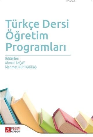 Türkçe Dersi Öğretim Programları
