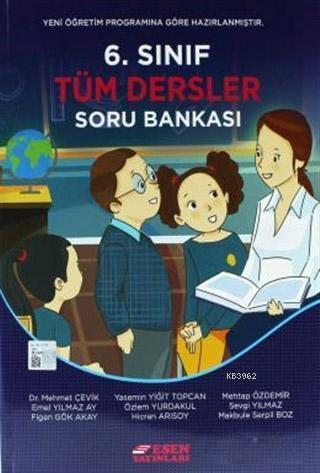 6.Sınıf Tüm Dersler Soru Bankası (Yeni Müfredat)