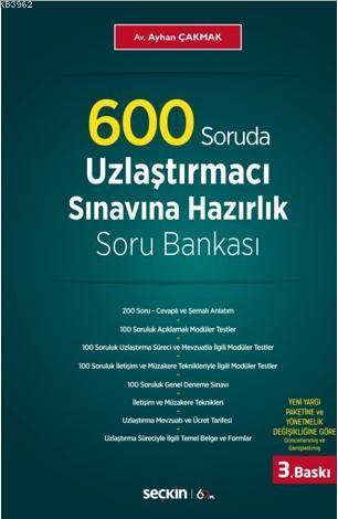 600 Soruda Uzlaştırmacı Sınavına Hazırlık Soru Bankası