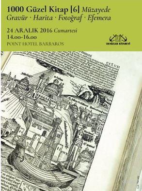 1000 Güzel Kitap - 6; Müzayede-Gravür-Harita-Fotoğraf-Efemera