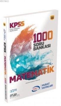 2018 KPSS Matematik Çözümlü Güncel 1000 Soru Bankası
