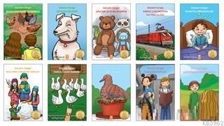 Öykülere Gizlenen Sayılar Seti (10 Kitap Takım)